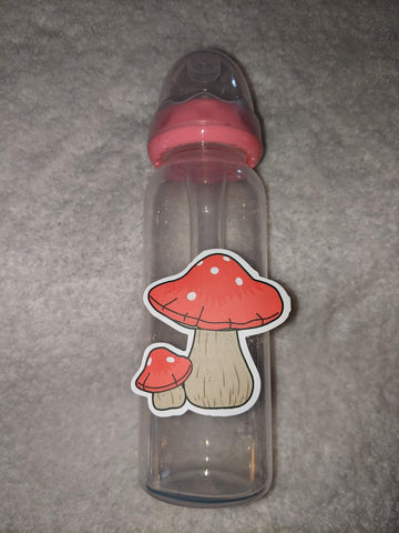 Mushroom 9oz Baby Bottle with ADULT Teat BB2560