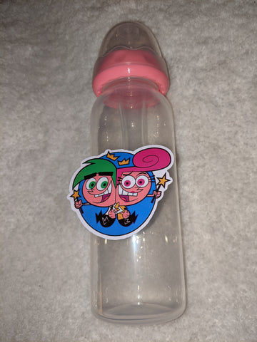 Fairies Cartoon 9OZ BABY BOTTLE WITH ADULT TEAT BB2680