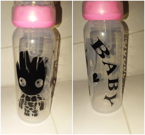 Baby Plant 9oz Baby Bottle with ADULT Teat BB312