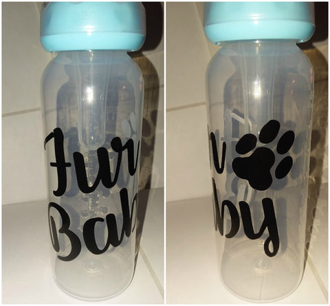 Fur Baby 9oz Baby Bottle with ADULT Teat BB317