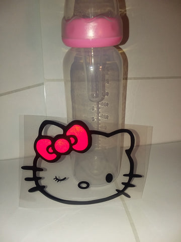 Kitty 9oz Baby Bottle with ADULT Teat BB428