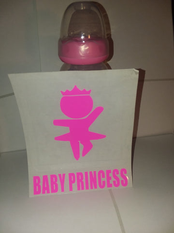 Baby Princess 9oz Baby Bottle with ADULT Teat BB443