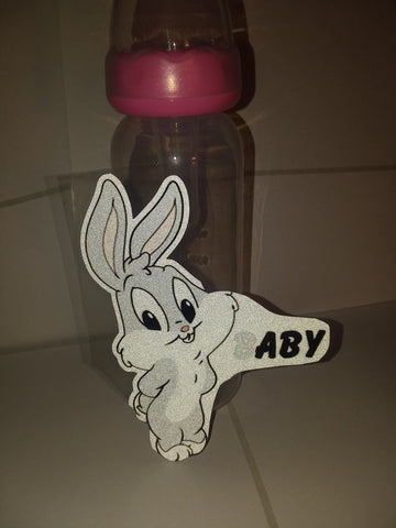 Bunny Baby 9oz Baby Bottle with ADULT Teat BB447