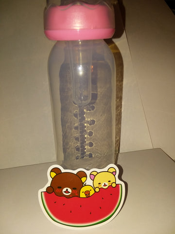Bear 9oz Baby Bottle with ADULT Teat BB635