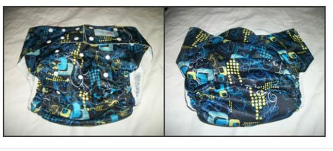 BLUE Pocket DIAPER CD3