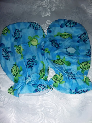 Sea Turtles Mittens CM105 CLEARANCE