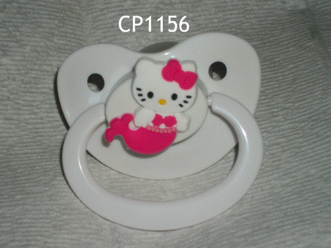 Kitty Pacifier White HK CP1156