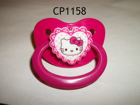Kitty Pacifier White HK  cp1158