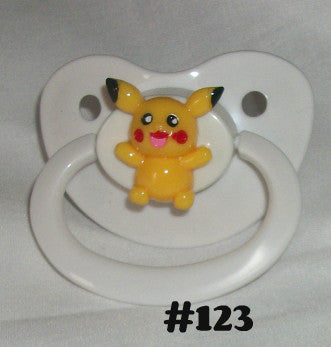 Video Game Poke pacifier CP123