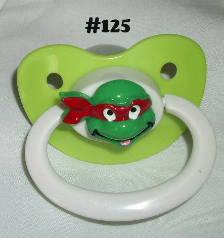 Hero Turtle pacifier CP125 RED