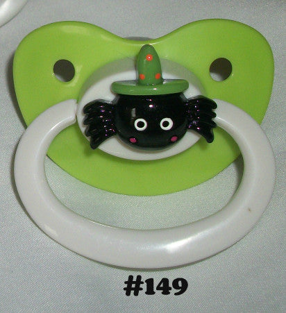 Holiday Halloween Pacifier CP149 SPIDER