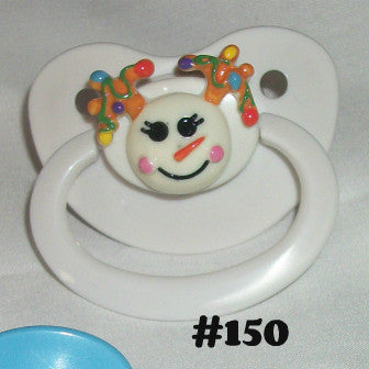 Holiday Christmas Pacifier CP150 SNOWMAN