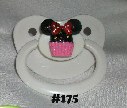 MOUSE pacifier CP175 M MOUE CUPCAKE