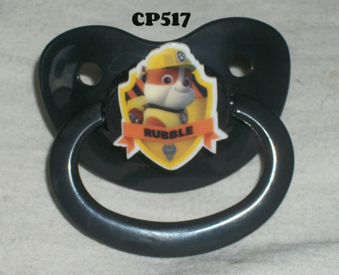Dogs paw cartoon pacifier CP517