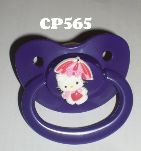 Kitty Pacifier White  HK CP565