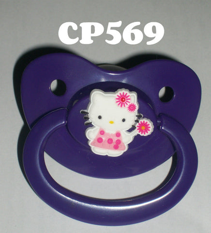 Kitty Pacifier White HK  CP569