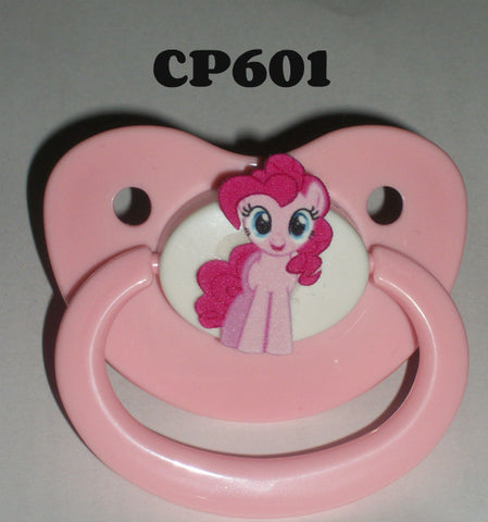 Pony pacifier Pink CP601