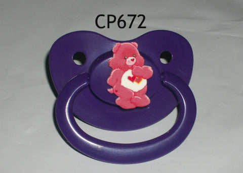BEAR Rainbow Pacifier CP672