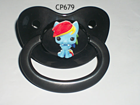 Pony pacifier Rainbow CP679