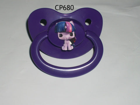 Pony pacifier Purple CP680