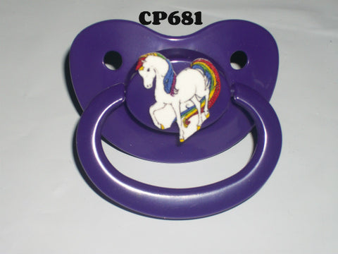 80's Cartoon Rainbow Pacifier #7 CP681