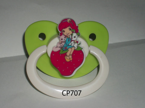 80'S CARTOON STRAWBERRY GIRL PACIFIER CP707