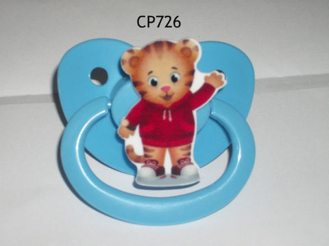 Pre School Cartoon pacifier CP726 TIGER