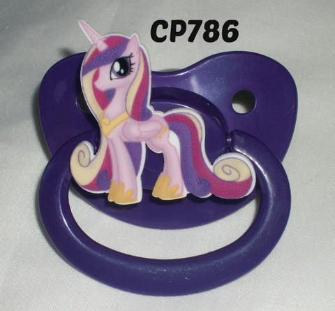 Pony pacifier CP786 Pink/Purple