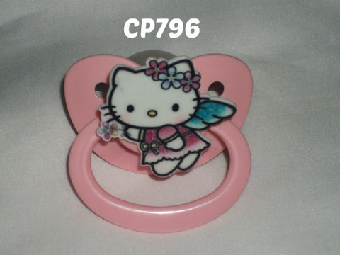 Kitty Pacifier White  HK CP796 ANGEL KITTY