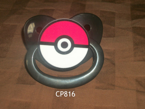 Video Game Poke pacifier CP816 BALL