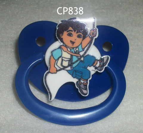 2000's Cartoon Boy Pacifier CP838