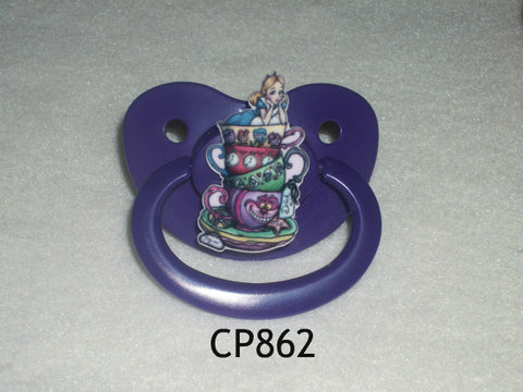 Alice Movie pacifier CP862 TEA PARTY