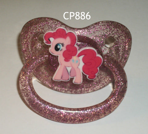 Pony pacifier Pink CP886