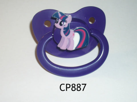 Pony pacifier Purple CP887