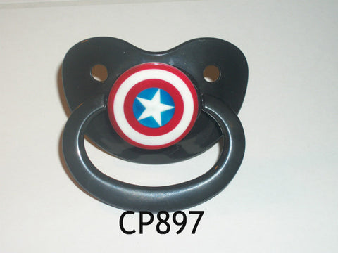 Hero CAPT USA SHIELD pacifier CP897
