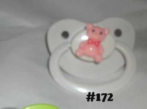 BEAR Teddy pacifier CP172 Pink