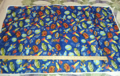 "Rocket Ship Large 29"" x 45"" Changing Mat/Pad Cpad106"