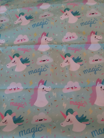 "Unicorns Large 29"" x 45"" Changing Mat Pad Cpad112"