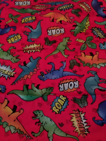 "Dinosaurs Large 29"" x 45"" Changing Mat Pad Cpad114"