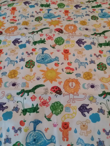 "Animals Large 29"" x 45"" Changing Mat/Pad Cpad121"
