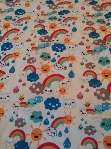 "Over the Rainbow Large 29"" x 45"" Changing Mat Pad Cpad130"