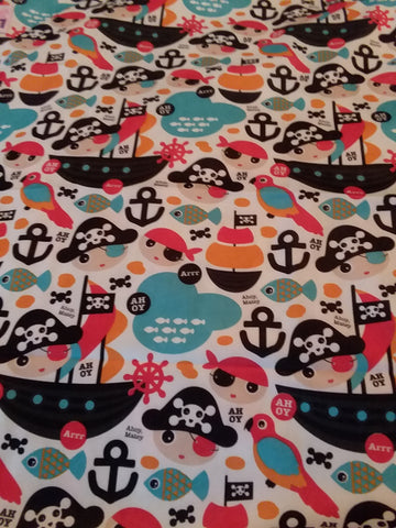 "Pirates Large 29"" x 45"" Changing Mat Pad Cpad131"