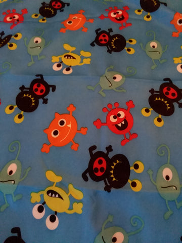 "Monsters Large 29"" x 45"" Changing Mat Pad Cpad132"