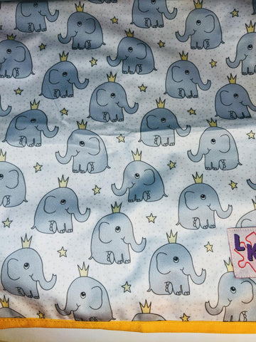 "Elephants Large 29"" x 45"" Changing Mat Pad Cpad135"