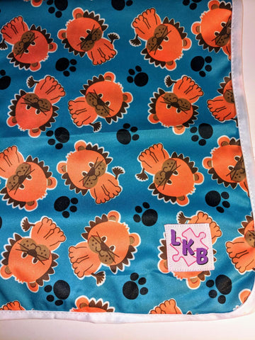 "Lion Large 29"" x 45"" Changing Mat Pad Cpad137"
