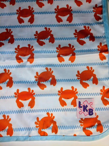 "Crab Large 29"" x 45"" Changing Mat Pad Cpad140"