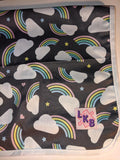 "Rainbows Large 29"" x 45"" Changing Mat Pad Cpad146"