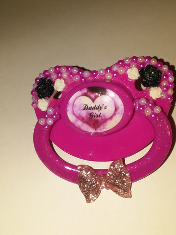 Daddy's Girl Deluxe Custom Pacifier DCP360