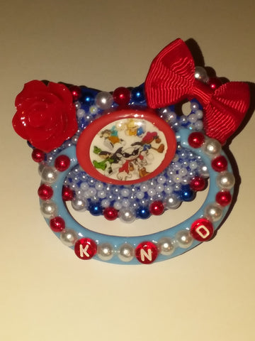 90's Cartoon KND Kids N Dor Deluxe Custom Pacifier DCP447