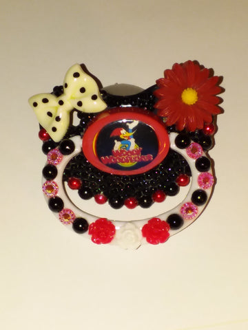 40'S Classic CARTOON WoodPecker Deluxe Custom Pacifier DCP460